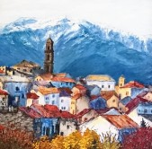 View of Orsogna - Private Collection