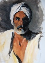 Head of an Arab, after JSS