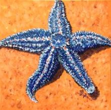 Star Bright, Acrylic on Canvas 20 x 20