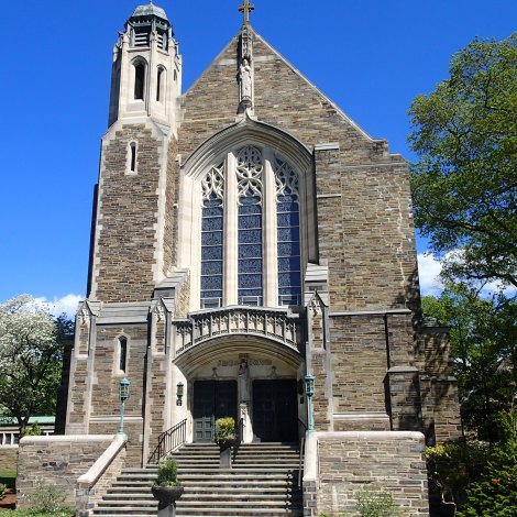 Chapel facade