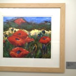 """Poppies on the Loose, Oil, 20 x 24"""", NFS"""