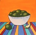 Fiesta Limes II, 12 x 12 Acrylic $150