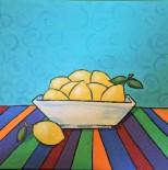 Zesty Lemons, 12 x 12 Acrylic $150