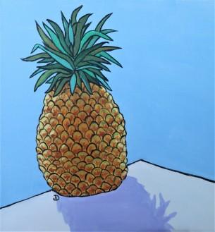Pineapple III 12 x 12 Acrylic $150