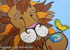 Lion's New Friend - DeFelice - 300 dpi AF