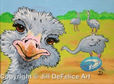 Ostrich Photobomb - DeFelice 300 dpi A1