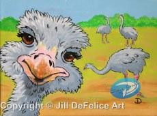 Ostrich Photobomb - DeFelice 300 dpi A1